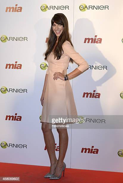 Laura Sanchez attends the 'Cuida De Ti' charity awards ceremony at the COAM on October 29 2014 in Madrid Spain