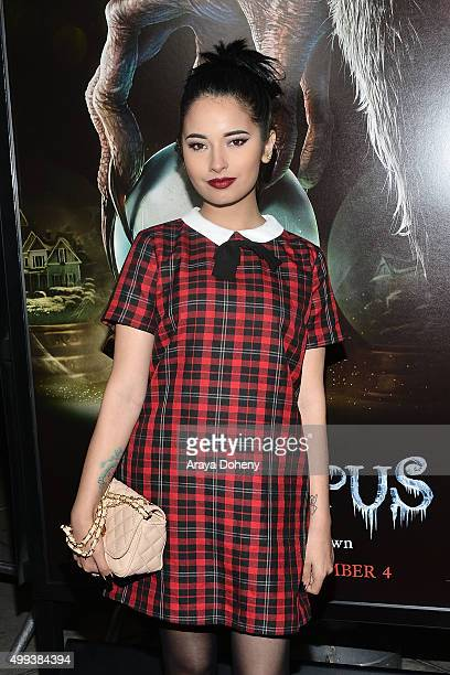 Laura Sanchez attends the Industry Screening of Universal Pictures' 'Krampus' at ArcLight Cinemas on November 30 2015 in Hollywood California