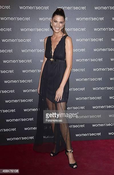 Laura Sanchez attends the Women Secret's 'Dark Seduction' fashion film premiere at Callao Cinema on November 5 2014 in Madrid Spain