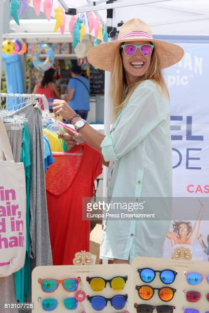 Laura Sanchez presents 'Bloomers Day Dia Saludable' by BloomersBikini on July 11 2017 in Marbella Spain