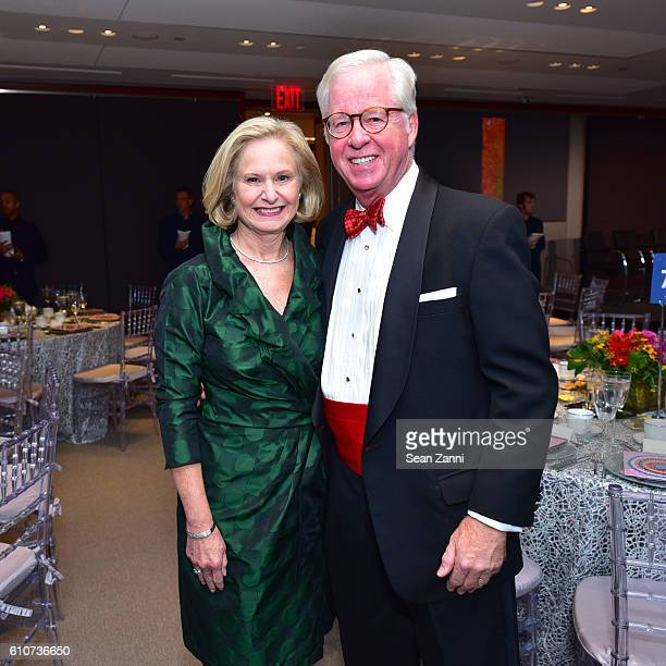 Laura Shields and Sonny Shields attend Abstracted Black Tie Dinner Hosted by Pamela Joyner Fred Giuffrida and the Ogden Museum of Southern Art to...