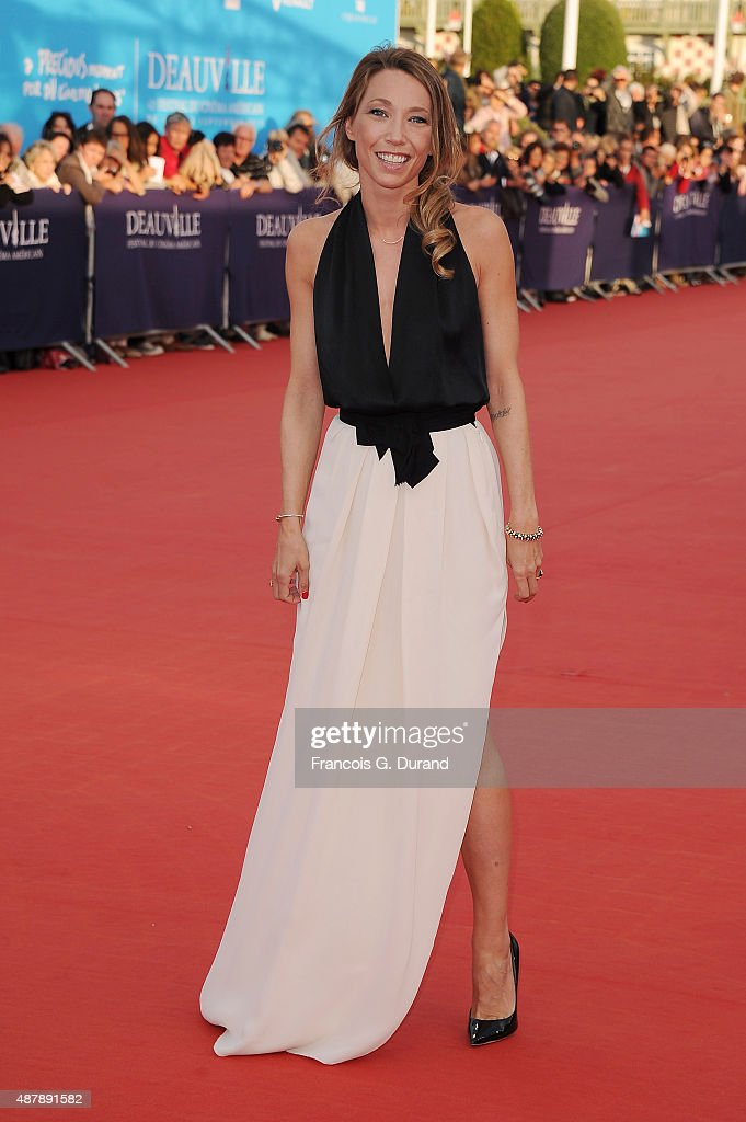 Laura Smet arrives at the Closing Ceremony and 'Sicario'Premiere during the 41st Deauville American Film Festival on September 12 2015 in Deauville...