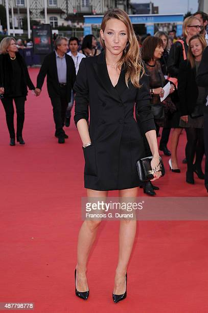 Laura Smet arrives at the 'The Man From UNCLE' Premiere during the 41st Deauville American Film Festival on September 11 2015 in Deauville France