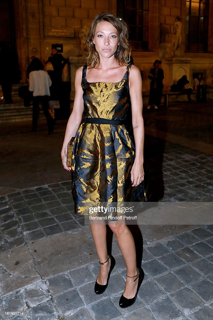 Laura Smet arriving at Lanvin show as part of the Paris Fashion Week Womenswear Spring/Summer 2014, held at 'Ecole des beaux Arts' on September 26, 2013 in Paris, France.