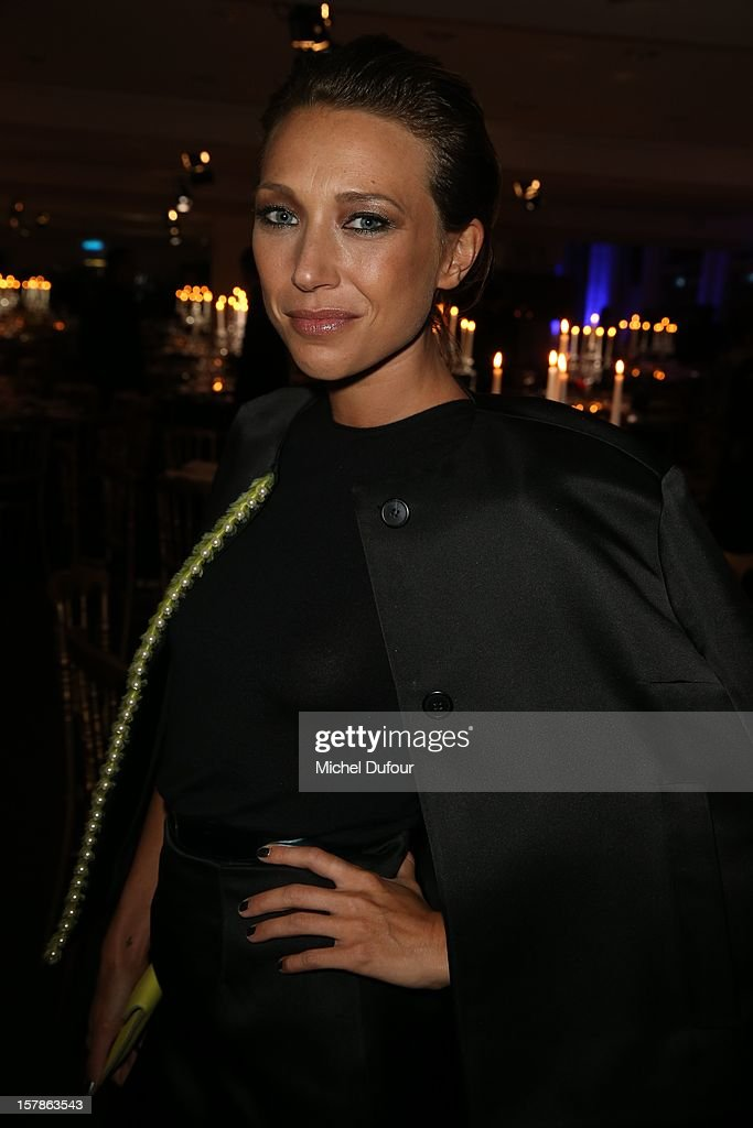 Laura Smet attends the Babeth Djian Hosts Dinner For Rwanda To The Benefit Of A.E.M. on December 6, 2012 in Paris, France.