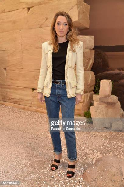 Laura Smet attends the 'Chanel Cruise 2017/2018 Collection' at Grand Palais on May 3 2017 in Paris France