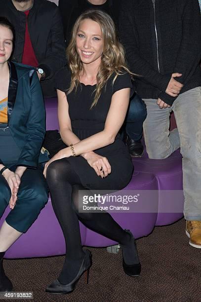 Laura Smet attends the 'Eden' Paris Premiere at Cinema Gaumont Marignan on November 18 2014 in Paris France