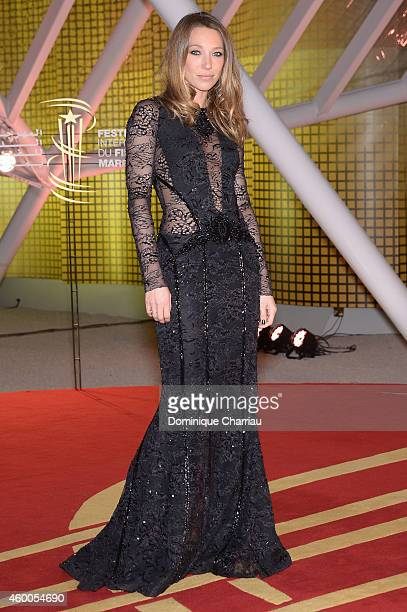 Laura Smet attends the Evening Tribute To Jeremy Irons as part of the 14th Marrakech International Film Festival on December 6 2014 in Marrakech...