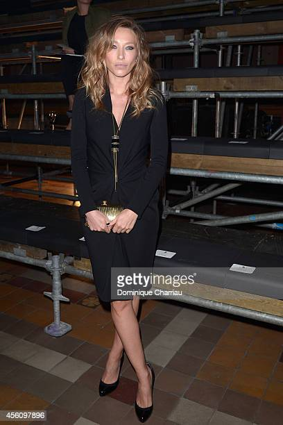 Laura Smet attends the Lanvin show as part of the Paris Fashion Week Womenswear Spring/Summer 2015 on September 25 2014 in Paris France