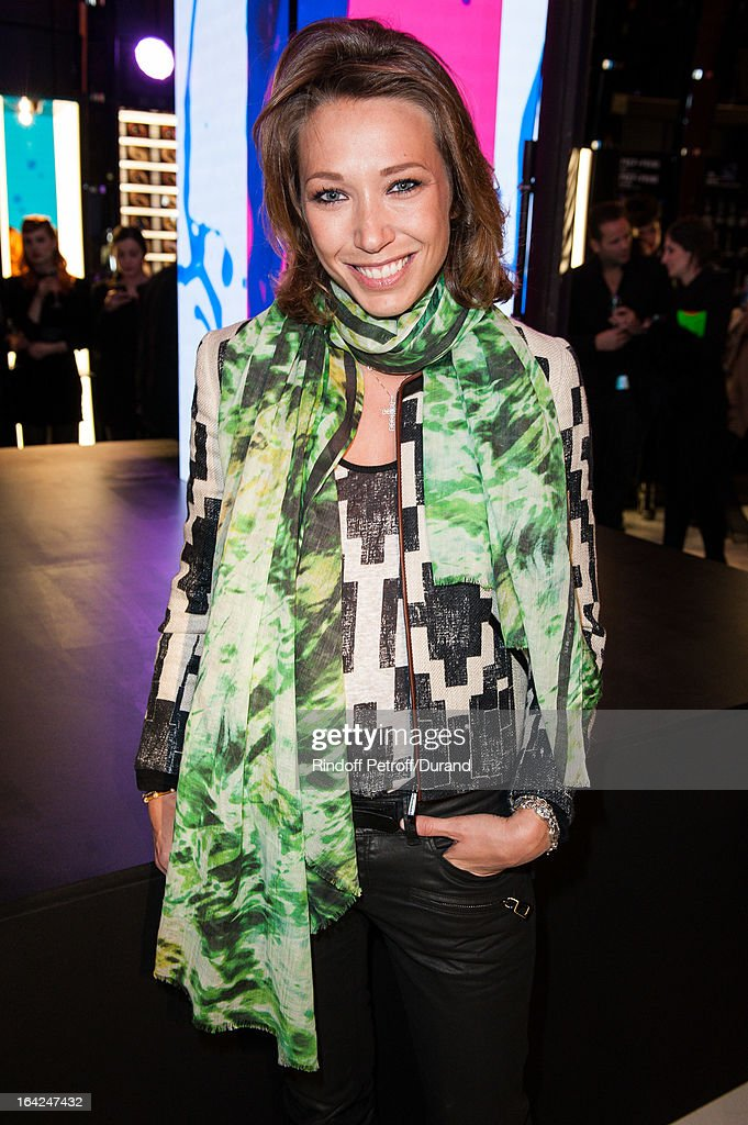 <a gi-track='captionPersonalityLinkClicked' href=/galleries/search?phrase=Laura+Smet&family=editorial&specificpeople=208666 ng-click='$event.stopPropagation()'>Laura Smet</a> attends the MAC Cosmetics Champs Elysees Opening Party on March 21, 2013 in Paris, France.