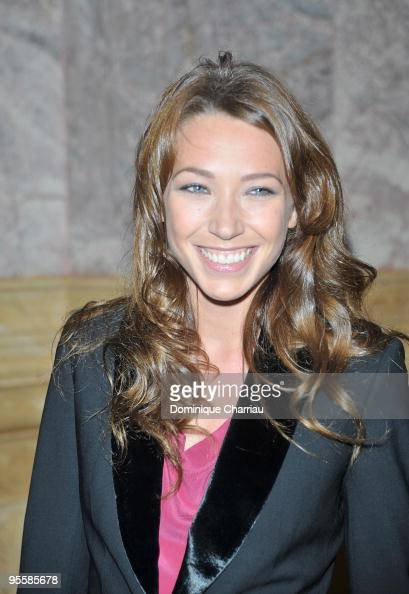 Laura Smet attends the Patrick Demarchelier's exhibition Party on September 29 2008 in Paris France