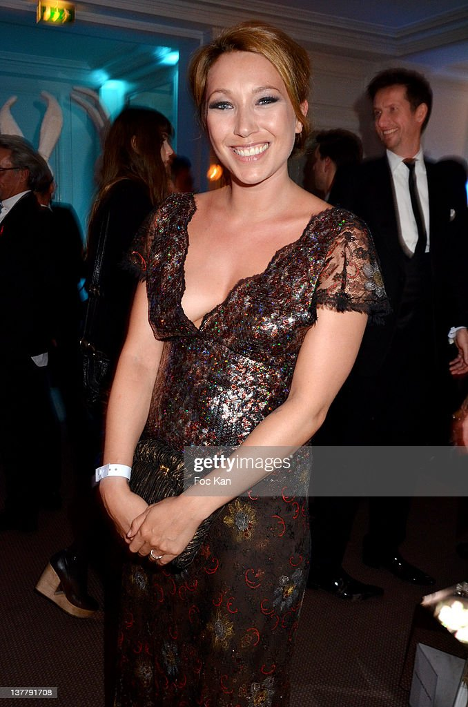 Laura Smet attends the Sidaction Gala Dinner 2012 at the Pavillon d'Armenonville on January 26, 2012 in Paris, France.