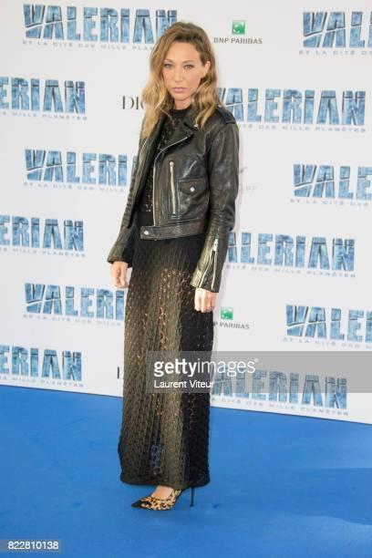 Laura Smet attends 'Valerian et la Cite desMille Planetes' Paris Premiere at La Cite Du Cinema on July 25 2017 in SaintDenis France