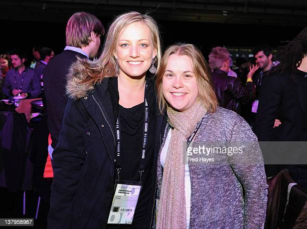 Laura Smith and Rebecca Green attend the Awards Night Ceremony Reception during the 2012 Sundance Film Festival at the Basin Recreation Field House...