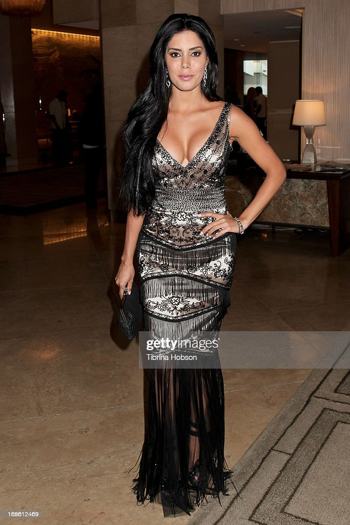 Laura Soares attends the 'Shall We Dance' annual gala for the coalition for at-risk youth at The Beverly Hilton Hotel on May 11, 2013 in Beverly Hills, California.