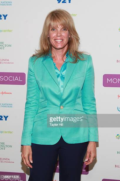 Laura Turner Seydel of Turner Foundation attends the Mom Social Event at the 92Y Tribeca on May 8 2013 in New York City
