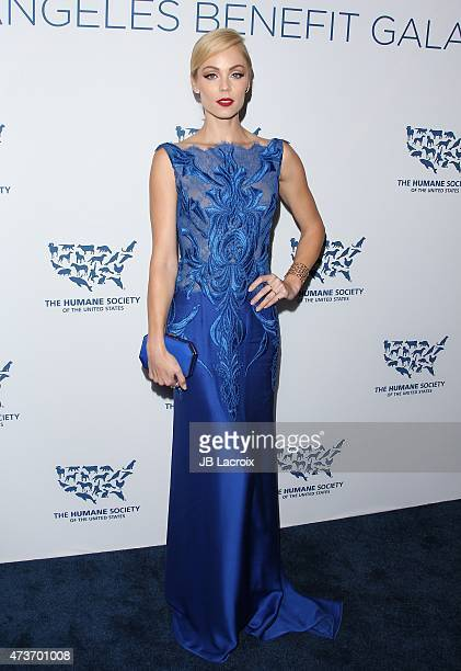 Laura Vandervoort attends The Humane Society Of The United States' Los Angeles Benefit Gala at the Beverly Wilshire Hotel on May 16 2015 in Beverly...