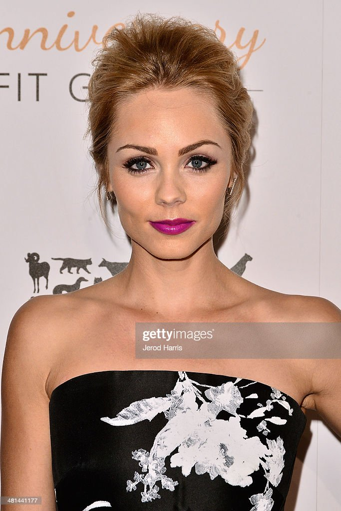 Laura Vandervoort attends the Humane Society of the United States 60th Anniversary Benefit Gala at The Beverly Hilton Hotel on March 29, 2014 in Beverly Hills, California.