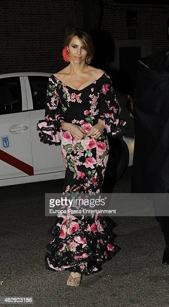 Laura Vecino attends Giancarlo Giammetti birthday party on February 6 2015 in Madrid Spain