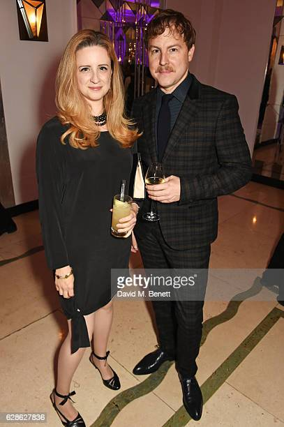 Laura Wade and Samuel West attend The London Evening Standard British Film Awards at Claridge's Hotel on December 8 2016 in London England