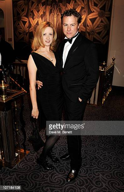 Laura Wade and Samuel West attend the London Evening Standard Theatre Awards at The Savoy Hotel on November 28 2010 in London England