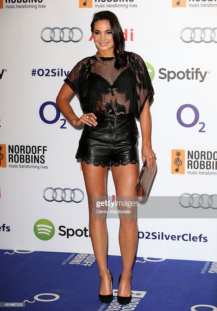 <a gi-track='captionPersonalityLinkClicked' href=/galleries/search?phrase=Laura+White&family=editorial&specificpeople=4313825 ng-click='$event.stopPropagation()'>Laura White</a> attends the Nordoff Robbins 02 Silver Clef awards at London Hilton on July 4, 2014 in London, England.