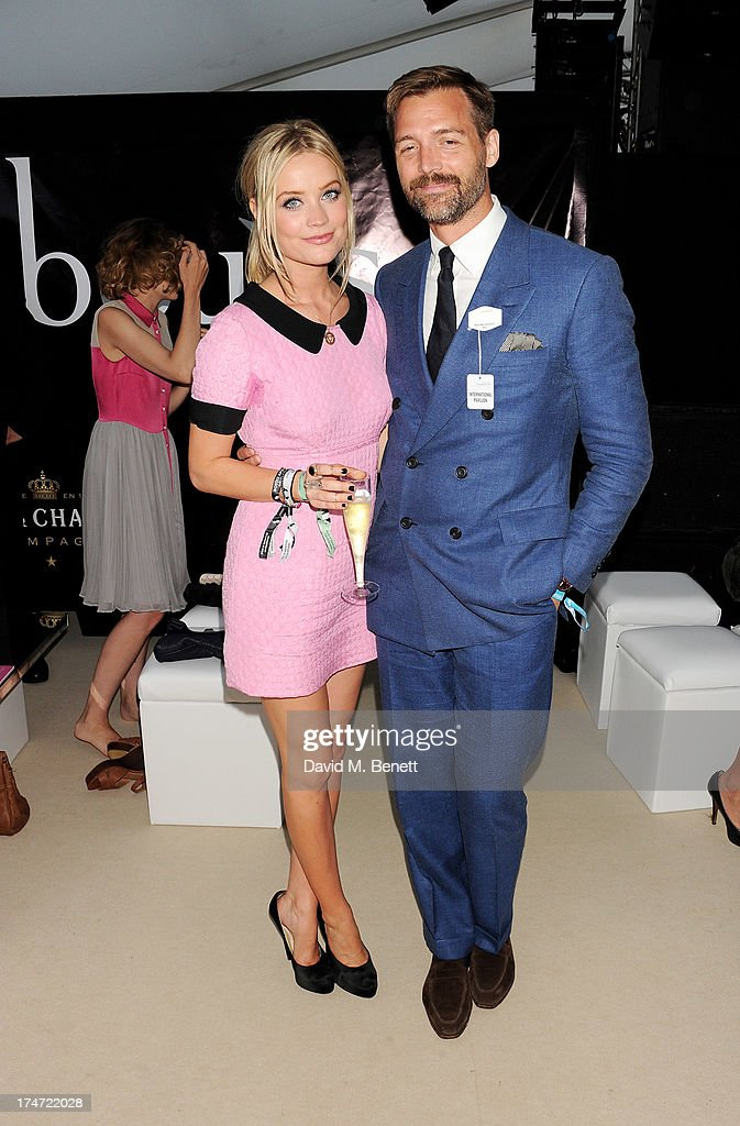 <a gi-track='captionPersonalityLinkClicked' href=/galleries/search?phrase=Laura+Whitmore&family=editorial&specificpeople=5599316 ng-click='$event.stopPropagation()'>Laura Whitmore</a> (L) and Patrick Grant attend the Boujis tent at the Audi International Polo day at Guards Polo Club on July 28, 2013 in Egham, England.