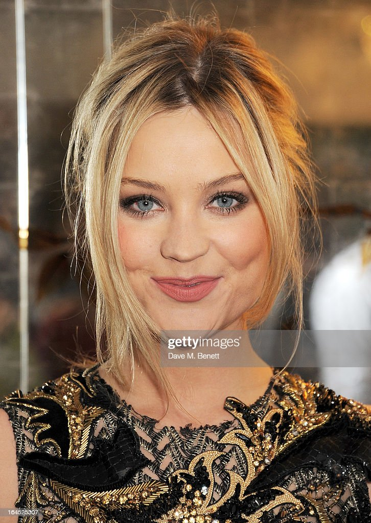 Laura Whitmore arrives at the Jameson Empire Awards 2013 at The Grosvenor House Hotel on March 24, 2013 in London, England.