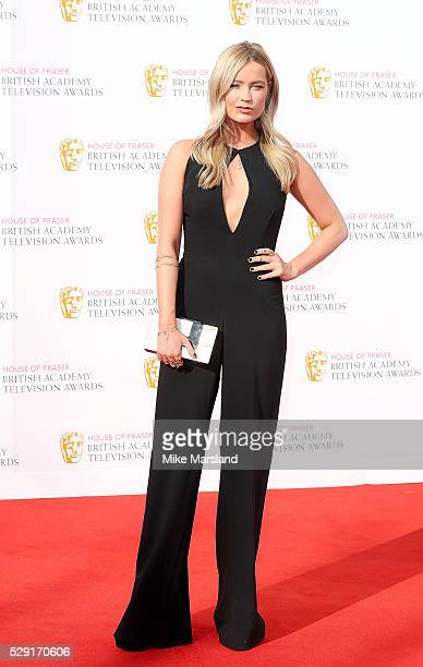 Laura Whitmore arrives for the House Of Fraser British Academy Television Awards 2016 at the Royal Festival Hall on May 8 2016 in London England