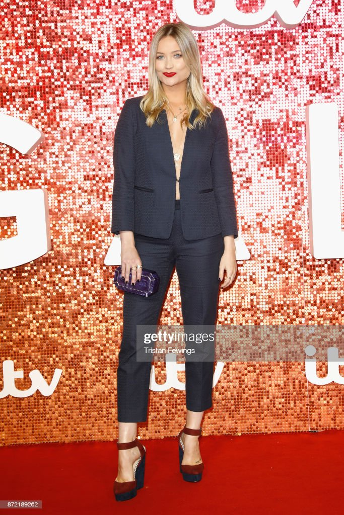Laura Whitmore arriving at the ITV Gala held at the London Palladium on November 9, 2017 in London, England.