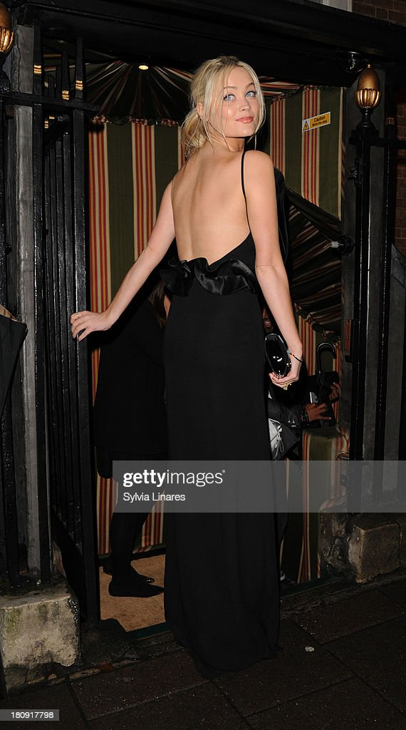 <a gi-track='captionPersonalityLinkClicked' href=/galleries/search?phrase=Laura+Whitmore&family=editorial&specificpeople=5599316 ng-click='$event.stopPropagation()'>Laura Whitmore</a> at Annabel's Club on September 17, 2013 in London, England.