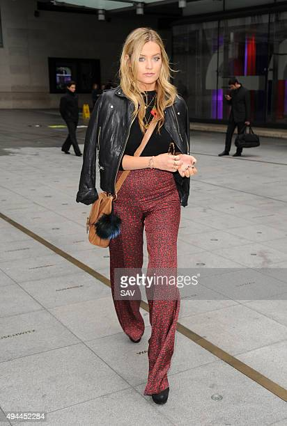 Laura Whitmore at The BBC on October 27 2015 in London England