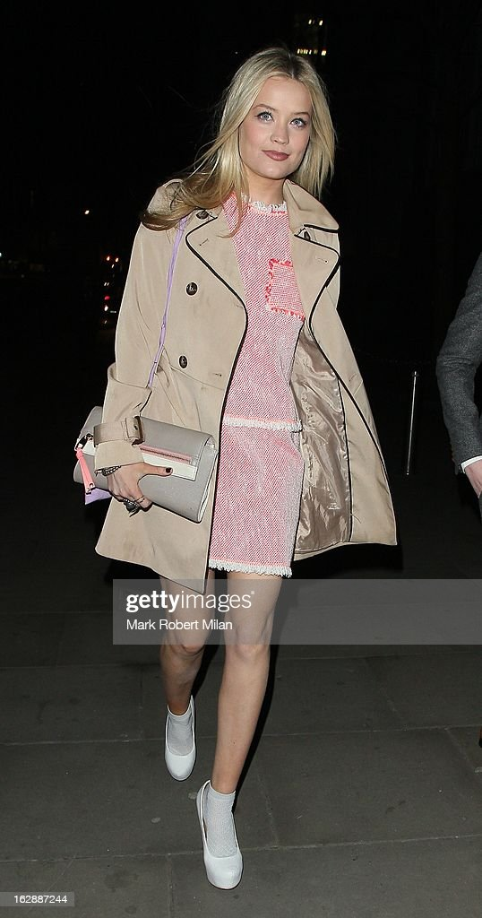 Laura Whitmore at the TK Maxx fundraising cocktail party at the Royal Opera House on February 28, 2013 in London, England.