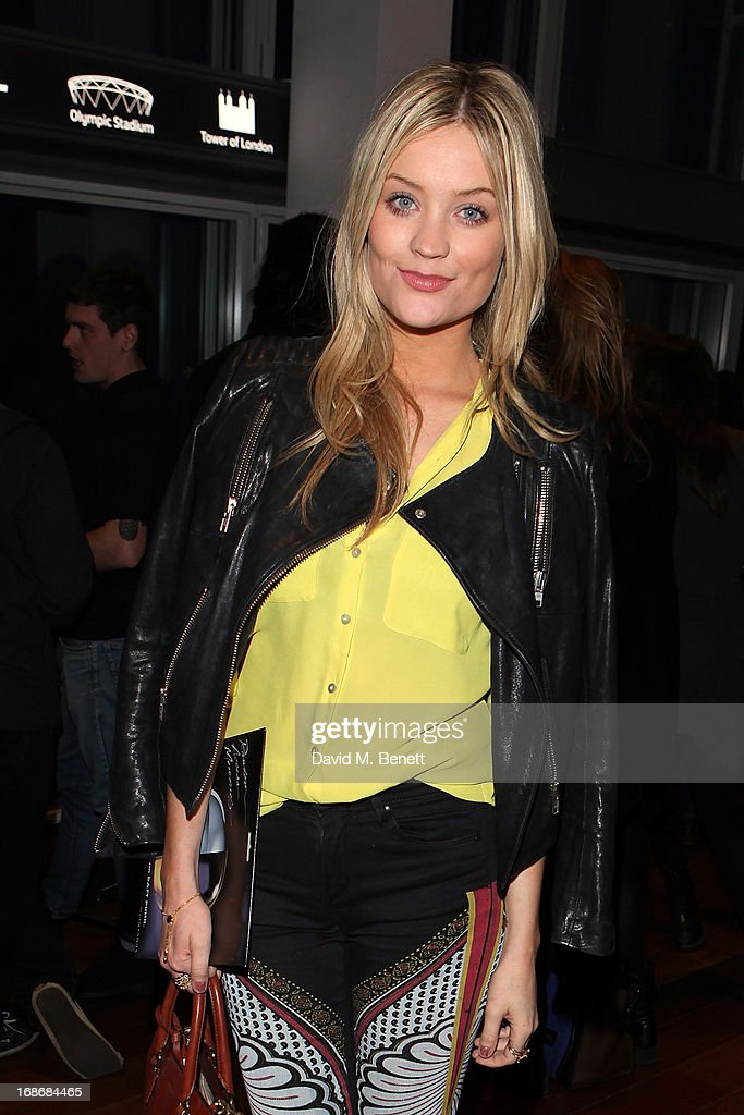 Laura Whitmore attend a listening party for Daft Punk's new album 'Random Access Memories' at The Shard on May 13, 2013 in London, England.