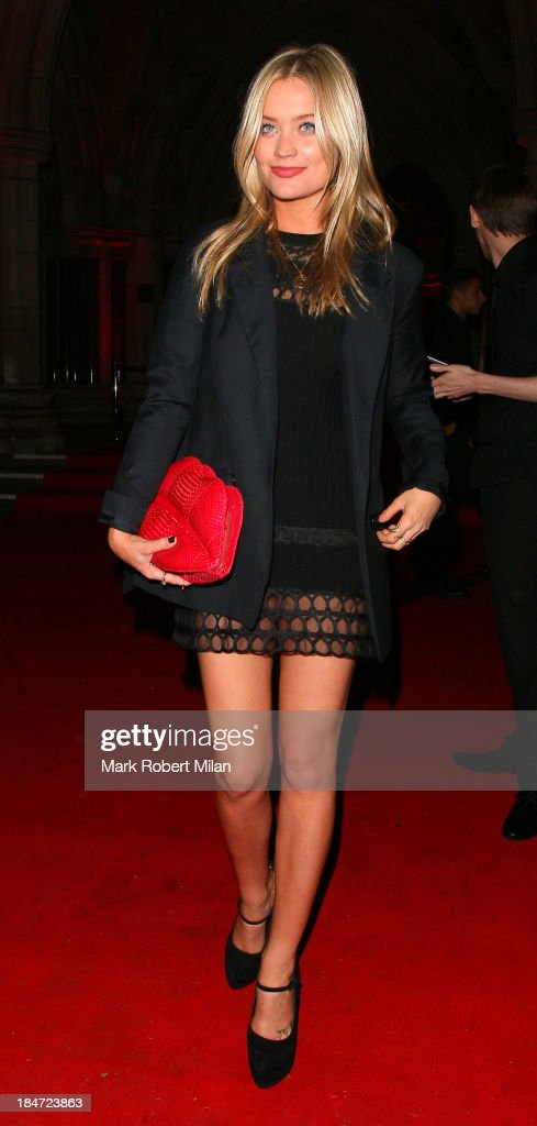 <a gi-track='captionPersonalityLinkClicked' href=/galleries/search?phrase=Laura+Whitmore&family=editorial&specificpeople=5599316 ng-click='$event.stopPropagation()'>Laura Whitmore</a> attending the Attitude Magazine Awards on October 15, 2013 in London, England.