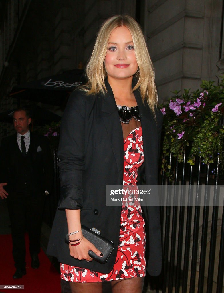 <a gi-track='captionPersonalityLinkClicked' href=/galleries/search?phrase=Laura+Whitmore&family=editorial&specificpeople=5599316 ng-click='$event.stopPropagation()'>Laura Whitmore</a> attending the Scottish Fashion Awards on Northumberland Avenue on September 1, 2014 in London, England.
