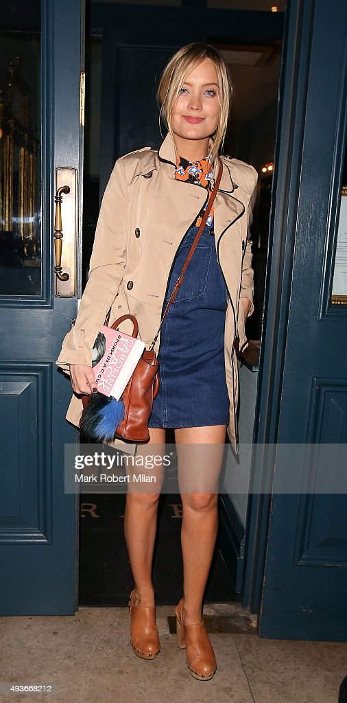 Laura Whitmore attending the 'Storm In A C Cup' By Caroline Flack Book Launch Party on October 21, 2015 in London, England.
