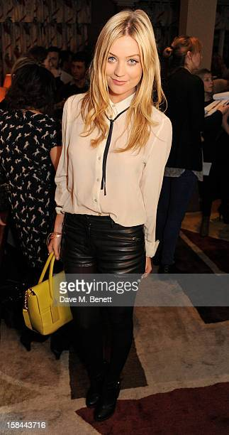 Laura Whitmore attends a screening of 'Silver Linings Playbook' hosted by Harvey Weinstein CoChairman of The Weinstein Company at the Charlotte...