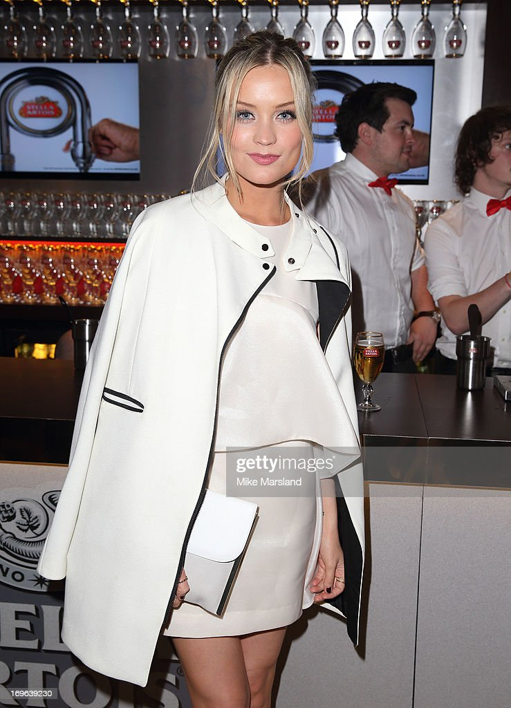 Laura Whitmore attends Esquire magazine's summer party at Somerset House on May 29, 2013 in London, England.