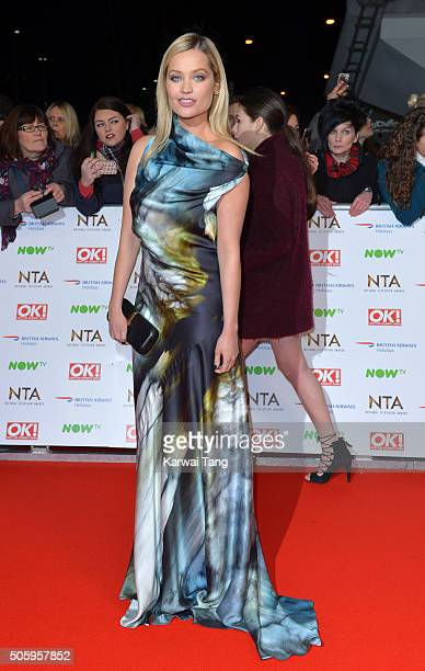 Laura Whitmore attends the 21st National Television Awards at The O2 Arena on January 20 2016 in London England
