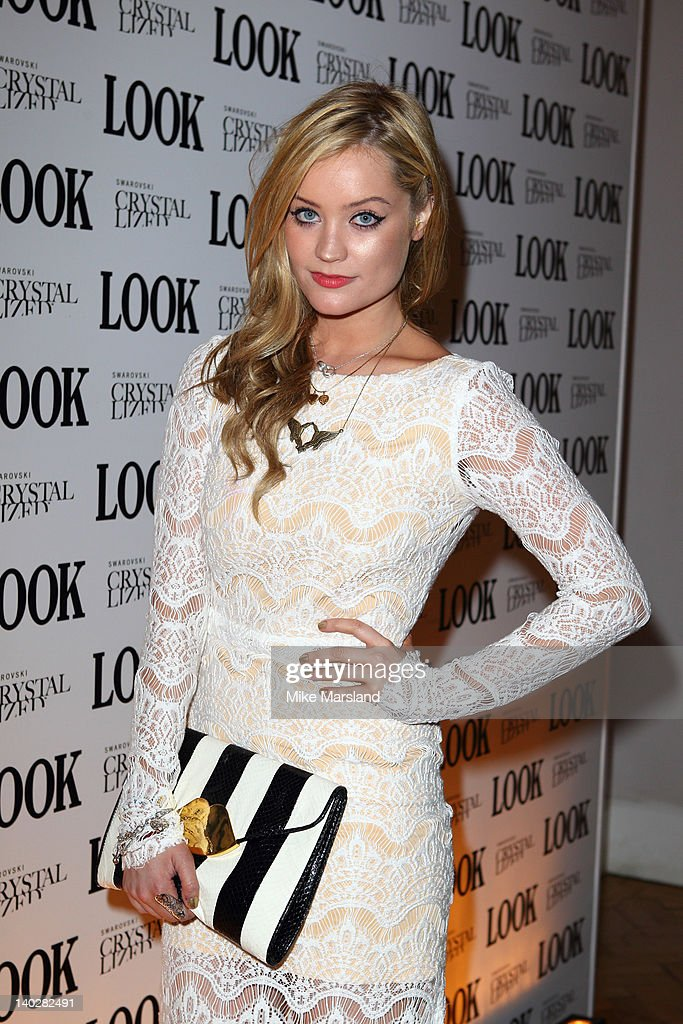 <a gi-track='captionPersonalityLinkClicked' href=/galleries/search?phrase=Laura+Whitmore&family=editorial&specificpeople=5599316 ng-click='$event.stopPropagation()'>Laura Whitmore</a> attends the 5th anniversary party of LOOK magazine at One Marylebone on March 1, 2012 in London, England.