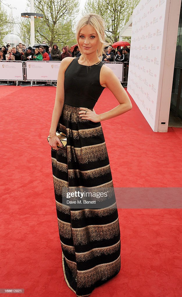 Laura Whitmore attends the Arqiva British Academy Television Awards 2013 at the Royal Festival Hall on May 12, 2013 in London, England.