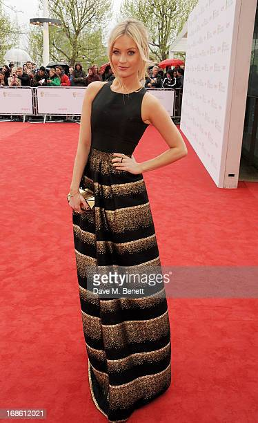 Laura Whitmore attends the Arqiva British Academy Television Awards 2013 at the Royal Festival Hall on May 12 2013 in London England