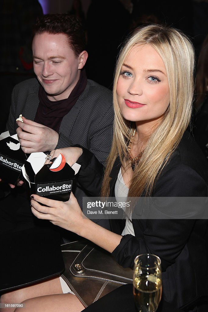 Laura Whitmore attends the Collabor8te Connected by NOKIA Premiere at Regent Street Cinema on February 12, 2013 in London, England.