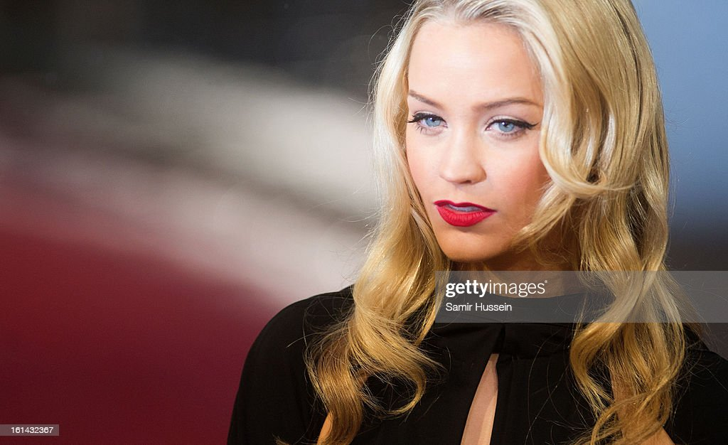 <a gi-track='captionPersonalityLinkClicked' href=/galleries/search?phrase=Laura+Whitmore&family=editorial&specificpeople=5599316 ng-click='$event.stopPropagation()'>Laura Whitmore</a> attends the EE British Academy Film Awards at The Royal Opera House on February 10, 2013 in London, England.
