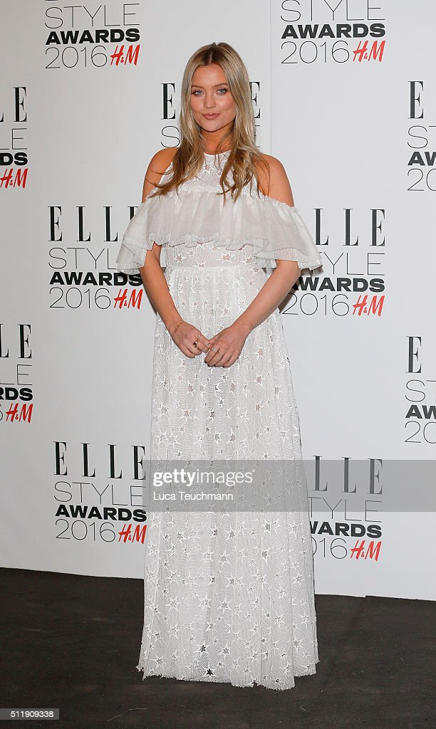 Laura Whitmore attends The Elle Style Awards 2016 on February 23, 2016 in London, England.