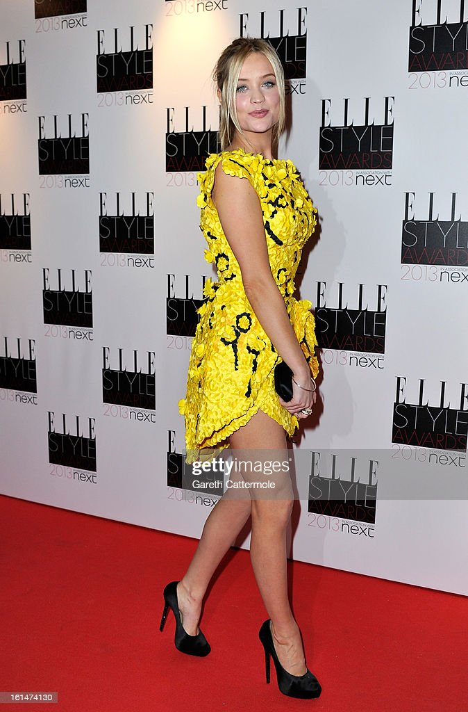 Laura Whitmore attends the Elle Style Awards at The Savoy Hotel on February 11, 2013 in London, England.