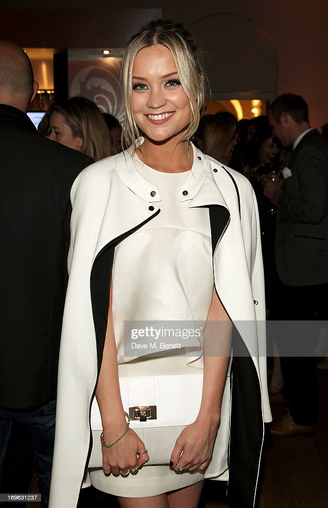 Laura Whitmore attends the Esquire Summer Party in association with Stella Artois at Somerset House on May 29, 2013 in London, England.