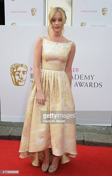 Laura Whitmore attends the House of Fraser British Academy Television Awards at Theatre Royal Drury Lane on May 10 2015 in London England