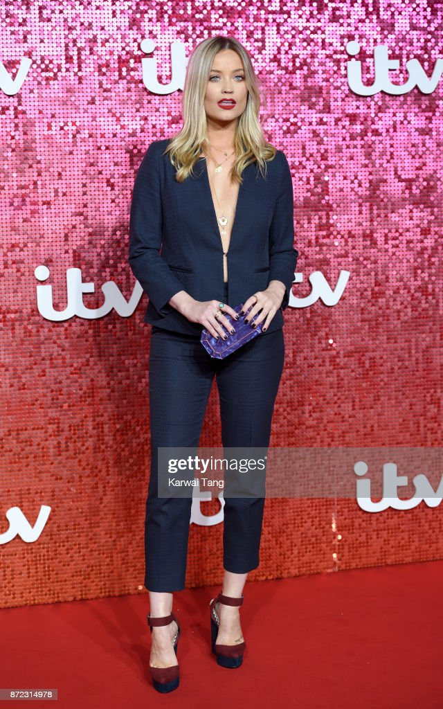 Laura Whitmore attends the ITV Gala at the London Palladium on November 9, 2017 in London, England.
